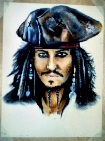 Johnny Depp par HeidiElizabeth